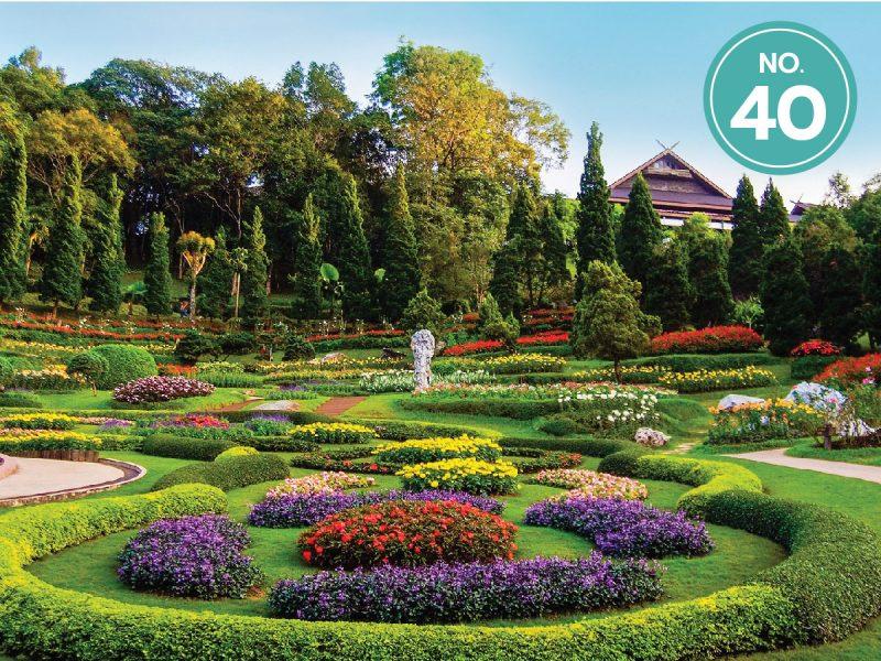 40.พระตำหนักดอยตุงและสวนแม่ฟ้าหลวง-ลำดับ